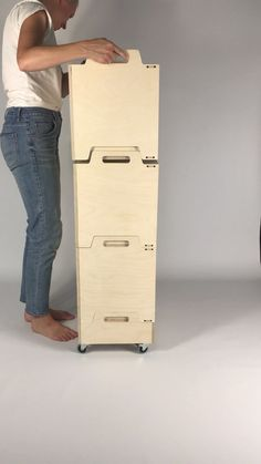 Modular birch plywood storage by Frontier Design, made in Sweden 🇸🇪 . - Modular birch plywood storage by Frontier Design, made in Sweden 🇸🇪 - Plywood Projects, Woodworking Projects Diy, Furniture Projects, Furniture Plans, Diy Furniture, Furniture Design, Furniture Stores, Woodworking Basics, Popular Woodworking
