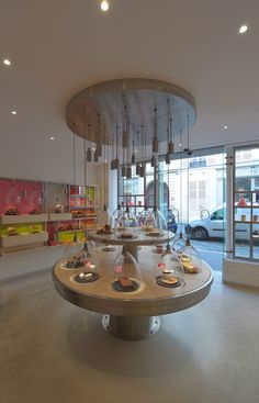 La Patisserie des Reves Paris 02 CHOCOLATIER! La Pâtisserie des Rêves, Paris clocks in dome