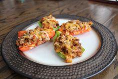 Low Carb Bell Pepper Nachos | DiGiacomo Tribe