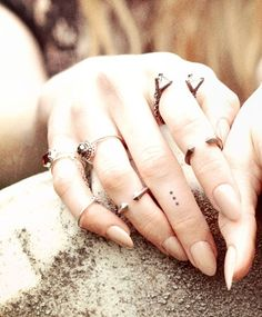 bona drag rings....but I like the nails the best