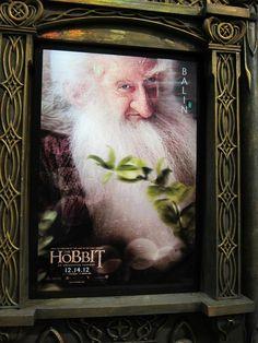 Cartel de El Hobbit, protagonizado por Balin expuesto en la #ComicCon #SDCC