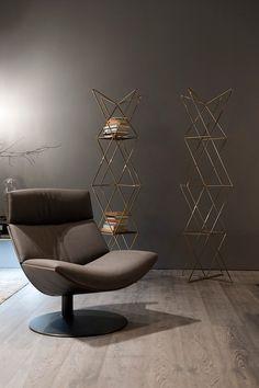 Kara Lounge Chair, Contemporary Living Room Design at Cassoni.com