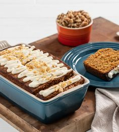 All the comforting flavors of carrot cake are baked into our easy Olive Oil Carrot Quick Bread with Maple Cream Cheese Glaze. 😋 The luscious maple cream cheese glaze makes it a favorite for dessert, brunch, or a snack alongside a cup of tea. Small Food Processor, Food Processor Recipes, Cream Cheese Glaze, Maple Cream, Quick Bread Recipes, Pure Maple Syrup, Deep Teal, Carrot Cake, Olive Oil