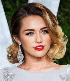 Best ombré hair: Miley Cyrus