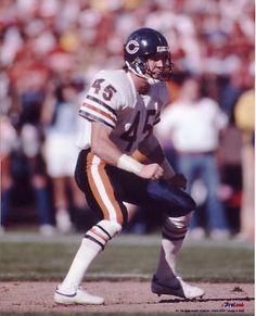105cd7cb Safety Gary Fencik Nfl Football Players, Bears Football, Football Icon,  School Football,