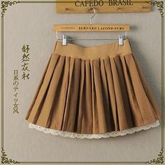 Buy 'Storyland – Crochet-Hem Pleated Skirt' with Free International Shipping at YesStyle.com. Browse and shop for thousands of Asian fashion items from China and more!