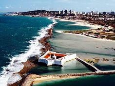 Praia e Forte dos Reis Magos, Natal-RN