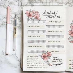 Habit tracker - Pinterest @catherinesullivan2017✨