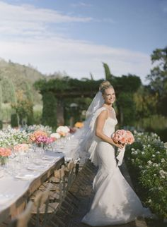 Molly Sims wedding photo by Gia Canali - Molly with her striking