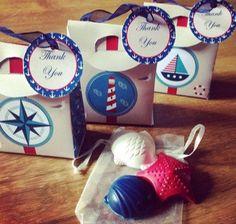 INSTANT DOWNLOAD  Nautical Themed Favor by WendysPrintableParty