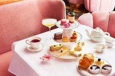 5 Pretty London Afternoon Tea spots including Sketch and The Orangery at…