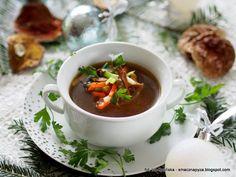 Smaczna Pyza: wigilia i Boże Narodzenie Chana Masala, Thai Red Curry, Beef, Ethnic Recipes, Food, Meal, Essen, Hoods, Ox