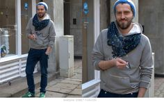 #warsawstreetfashion #warsaw #street #fashion #stylish #polish #guy #boy #man #sexy #scarf #city #centrum #handsome #warszawa #moda #blue #grey #outfit
