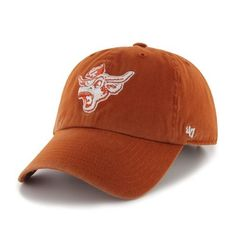 NCAA Texas Longhorns Clean Up Adjustable Cap (Orange, One-Size) by '47 Brand. Save 48 Off!. $9.93. Relax fit cap. Team logo embroidered at front. cotton. One-size fits all. Made from 100-Percent cotton twill. Garment-washed for a broken-in look. 47 Brand provides the quality all true fans desire in their gear. Known for their vintage look and feel, '47 has managed to also provide a new school spin to this old school craze. Featuring tight, crisp stiching, relaxed fit and adjustab...