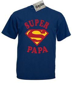Super Papa T-Shirt idée de cadeau pour la fête des pères