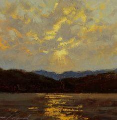27_sunset-tomales-bay-16x16_oil-plein-air-seascape.jpg.jpg (600×615) Michael Lynch