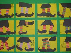Grade 1 patterns  Witch stockings