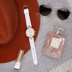 """Perfectionnez votre look avec la Number 8 Chronographe. """"Never Give Up"""" Or Rose, Rose Gold, Number 8, Never Give Up, Bracelet, Leather, Accessories, Women, Bangle"""