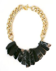 Gah! Please! This statement necklace is divine! Can you imagine pairing it up with a sassy red dress?