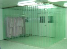 pvc curtain for containment