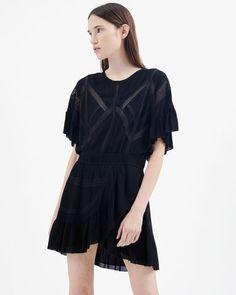 IRO - KIMCEY DRESS BLACK- 390 EUR