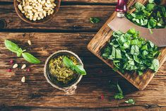 Nutrisystem provides a delicious and lightened up recipe for pesto sauce.