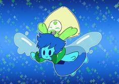 Lapidot Gemlings by DerseDragon on DeviantArt Lapis And Peridot, Amethyst, Steven Universe Lapidot, Galaxy Photos, Happy B Day, Cartoon Drawings, Fanart, Cartoon Network, Comic Books
