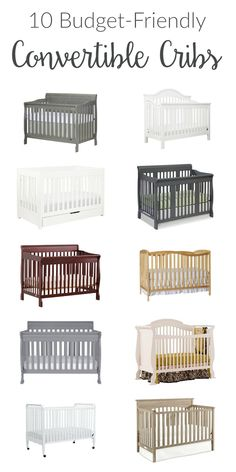 baby cribs Convertible cribs are smart investments for nursery furniture. Many options are budget-friendly, affordable, and suit any style from rustic to modern! Baby Crib Diy, Best Baby Cribs, Best Crib, Baby Nursery Diy, Girl Nursery, Baby Bedroom, Girl Room, Diy Nursery Furniture, Nursery Decor