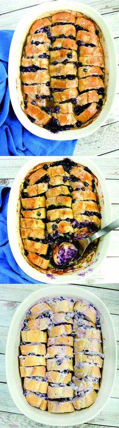 blueberry, bread, casserole, cheese, cinnamon, dessert, milk, pastry, recipes, strawberry, vanilla