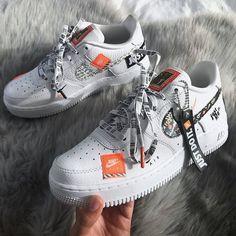 19 Ideas sneakers nike airforce air force for 2019 Cute Sneakers, Adidas Sneakers, Shoes Sneakers, Nike Trainers, Nike Women Sneakers, Sneakers Design, Shoes Men, Adidas Women, Jordan Shoes Girls