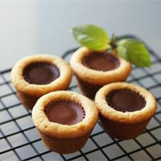 Peanut butter cups wrapped in a peanut butter cookie for the most peanut buttery of treats. How To Make Butter Recipe, Peanut Butter Cup Cookies, Sweet Peanuts, Pasta, Vegetarian Chocolate, Just Desserts, Cookie Recipes, Favorite Recipes, Yummy Food