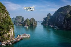 Take a panorama view of the Halong Bay