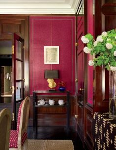 Traditional Dining Room by Peter Marino Architect in New York, New York