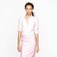 Stripe oxford popover - casual shirts - Women's shirts & tops - J.Crew
