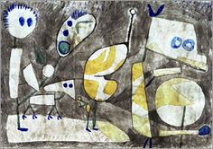 Paul Klee - Monster in readiness