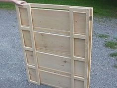 Folding Display Shelves   Dowel hinge for shelf