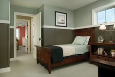 exact colors i want to paint our master bedroom, love the white trim