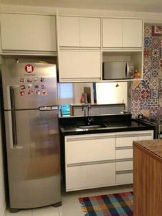 35 Small Kitchen Ideas You Will Definitely Want To Keep kitchen cozinha cozinha planejada cozinha pequena Interior Decorating Styles, New Interior Design, Home Decor Trends, Kitchen Interior, Kitchen Decor, Kitchen Design, Kitchen Sets, New Kitchen, Kitchen Small