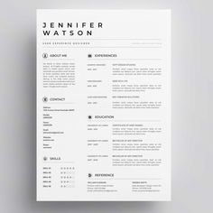 Plantilla de curriculum vitae elegante vector gratuito If you like this design. Check others on my CV template board :) Thanks for sharing! If you like this cv template. Check others on my CV template board :) Thanks for sharing! Cv Design Template Free, Cv Template Student, Cv Templates Free Download, Modern Resume Template, Resume Template Free, Template For Cv, Creation Cv, Curriculum Vitae Template Free, Cv Original