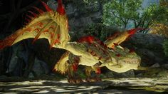 Conflagration Rathian is a Variant of Rathian introduced in Monster Hunter Online. Main Article: Rathian