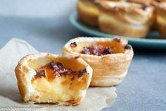 Patéis de Nata -  portugisische Puddingtörtchen