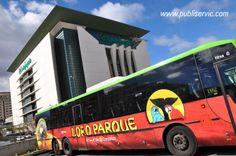 Rotulación Loro Parque. Contacta con nosotros en el 922 646 824 o vía email a mailto:comercial@... #publiservic #rotulacion #autobus Parrot, Advertising, Parks