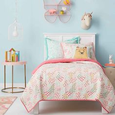 pillowfort floral field collection - fairytale forest theme
