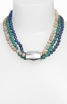 Simon Sebbag Multistrand Bead Necklace available at #Nordstrom