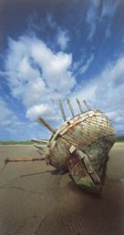Gweedore in Gaelic Gaoth Dobhair...I loved walking the beach by this boat! (img not mine)