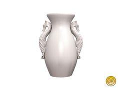 Apple Fall Seahorse Vase Object