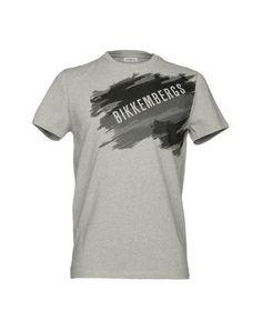 BIKKEMBERGS Men's T-shirt Grey XS INT