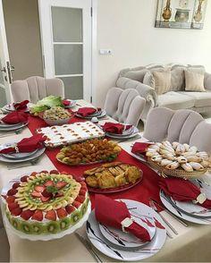Kahvaltılıklar – The Most Practical and Easy Recipes Tea Party Menu, Arabian Food, Breakfast Buffet, Food Platters, Decoration Table, Coffee Break, Food Presentation, Food Design, Appetizer Recipes