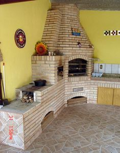 Resultado de imagem para churrasqueira  de canto com forno e fogão a lenha