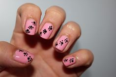 Nail Art Chat pour l'anniversaire de Girly and Glossy - Kféein Nail Polish Addict